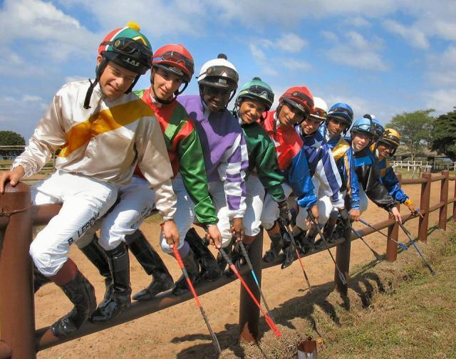 田泰安在校時的照片 (來源 : South Africa Jockey Academy Facebook Page)